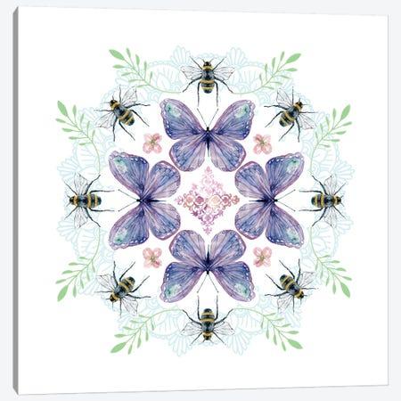 Nature's Kaleidoscope I Canvas Print #CRO276} by Carol Robinson Canvas Art Print