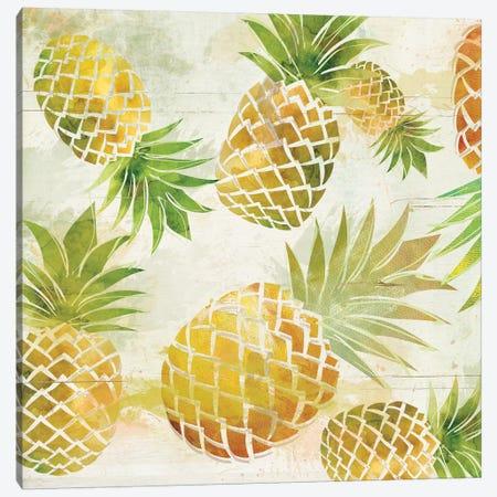 Pineapple Dance I Canvas Print #CRO283} by Carol Robinson Canvas Art Print
