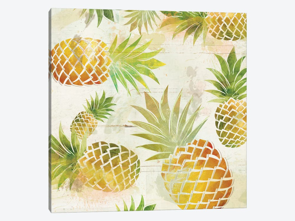 Pineapple Dance II by Carol Robinson 1-piece Canvas Wall Art