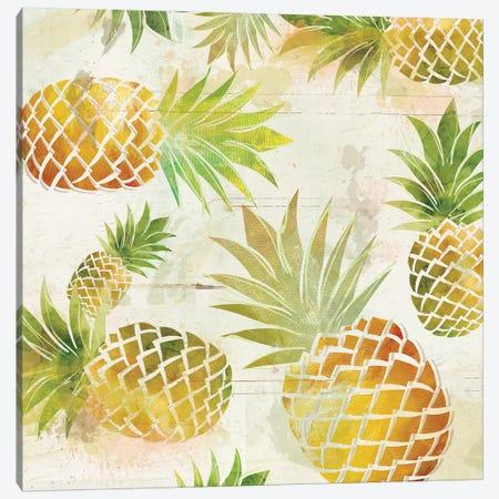 Pineapple Dance II Canvas Print #CRO284} by Carol Robinson Canvas Wall Art