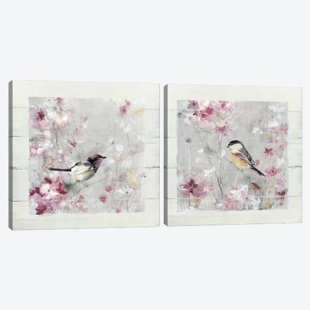 Sitting Pretty Shiplap Diptych Canvas Print Set #CRO2HSET003} by Carol Robinson Canvas Artwork