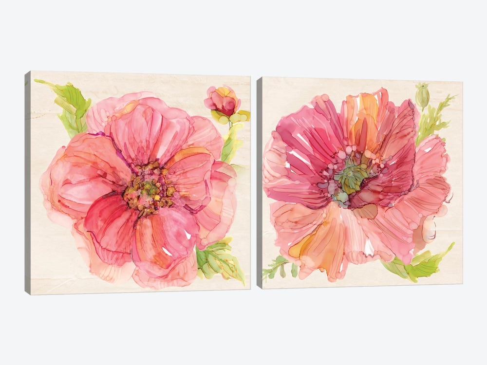 Botanicals Diptych by Carol Robinson 2-piece Canvas Print
