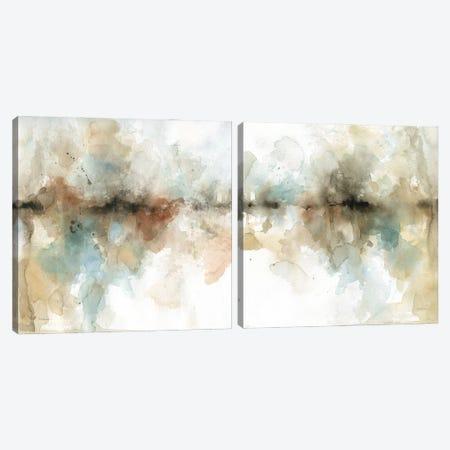 Island Mist Diptych Canvas Print Set #CRO2HSET021} by Carol Robinson Canvas Artwork
