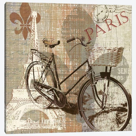 Paris Trip Canvas Print #CRO30} by Carol Robinson Canvas Print