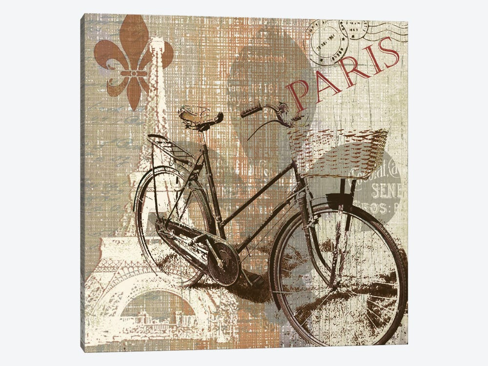 Paris Trip by Carol Robinson 1-piece Canvas Art