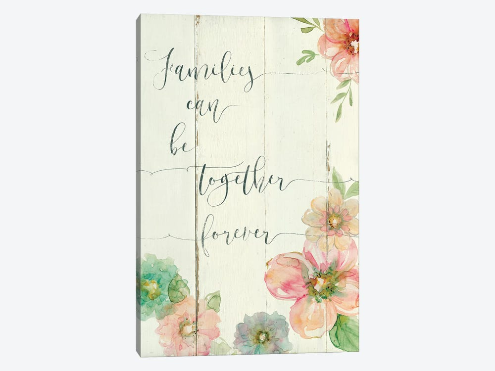 Together Forever by Carol Robinson 1-piece Canvas Print