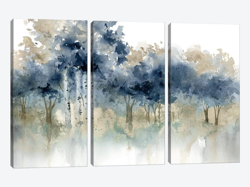 Water's Edge I by Carol Robinson 3-piece Canvas Print