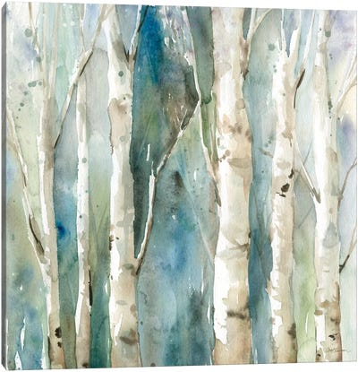 River Birch I Canvas Art Print