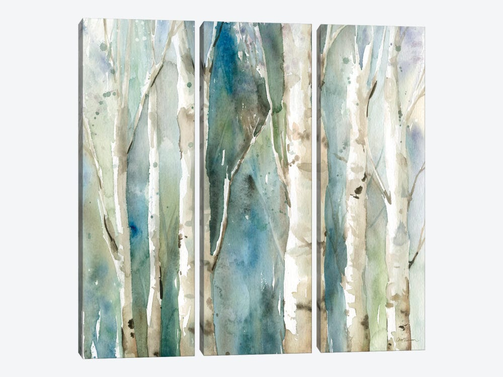 River Birch I by Carol Robinson 3-piece Canvas Print