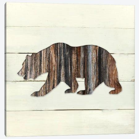 Woodland Bear Canvas Print #CRO327} by Carol Robinson Canvas Print