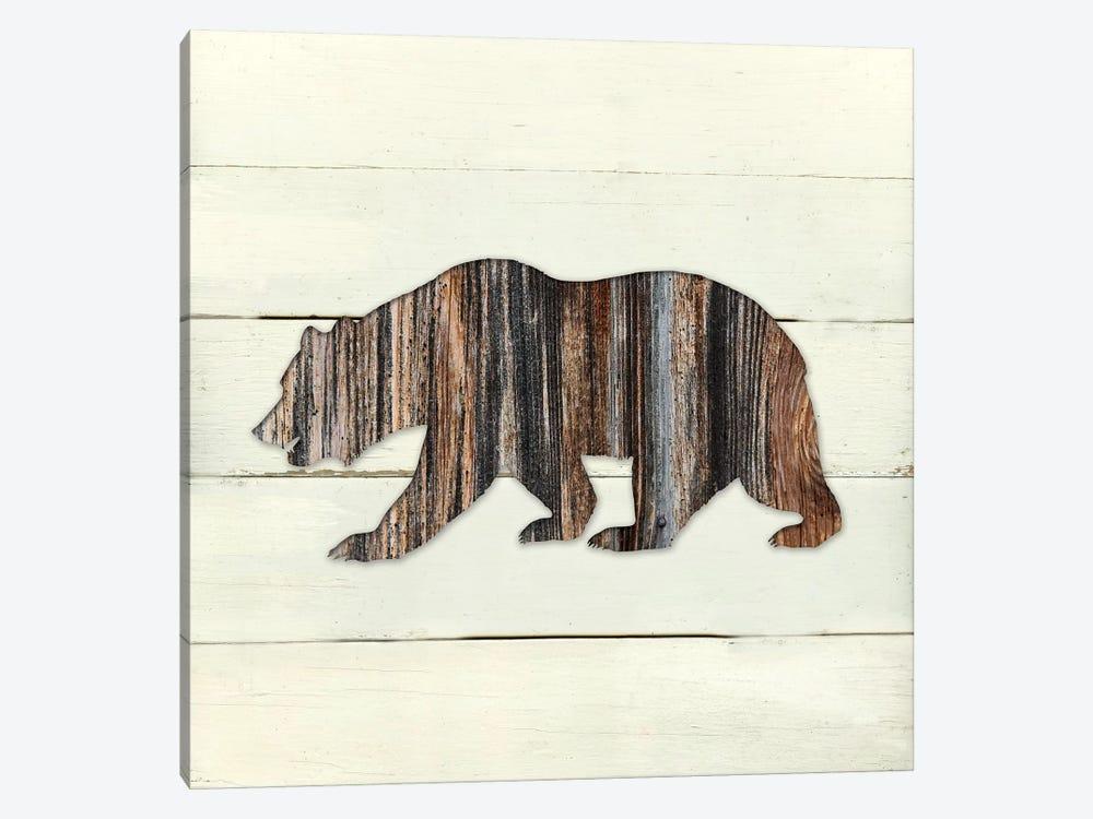 Woodland Bear by Carol Robinson 1-piece Canvas Artwork