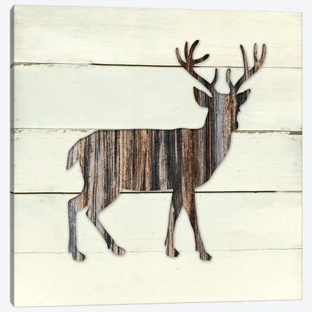 Woodland Deer Canvas Print #CRO328} by Carol Robinson Canvas Art