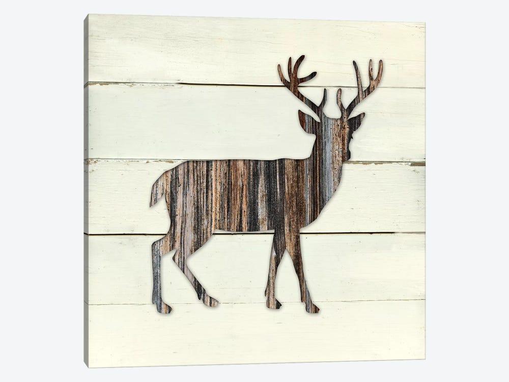 Woodland Deer by Carol Robinson 1-piece Art Print