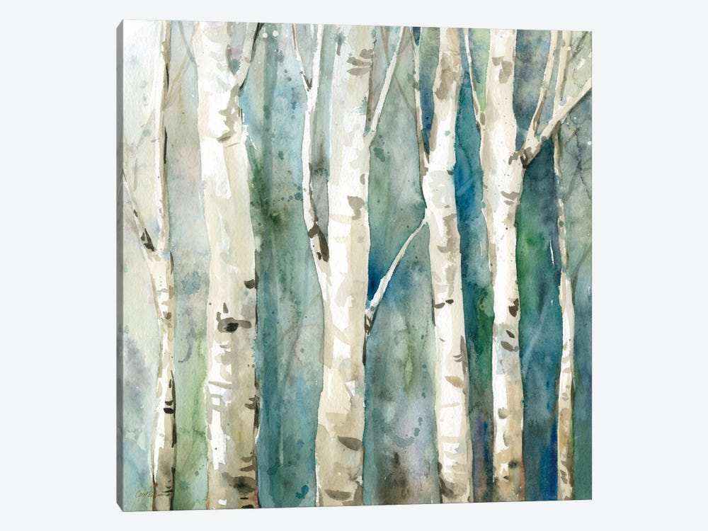 River Birch II by Carol Robinson 1-piece Canvas Art