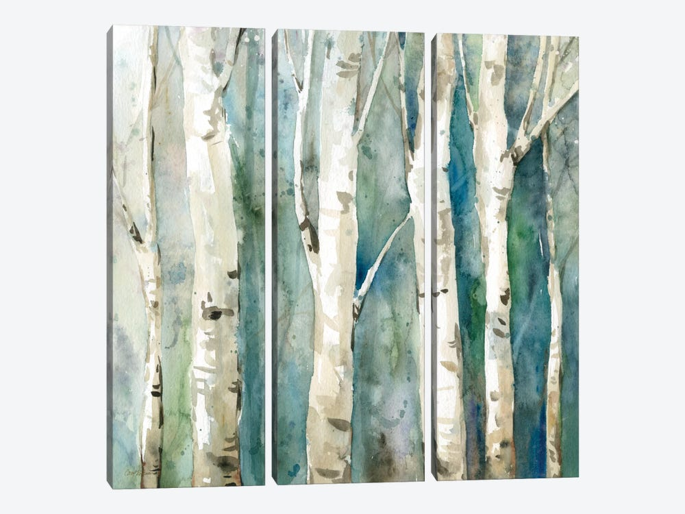 River Birch II by Carol Robinson 3-piece Canvas Artwork