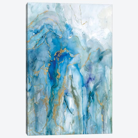 Abstract Lapis Canvas Print #CRO331} by Carol Robinson Canvas Art Print