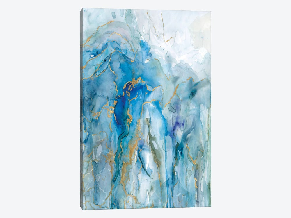 Abstract Lapis by Carol Robinson 1-piece Art Print