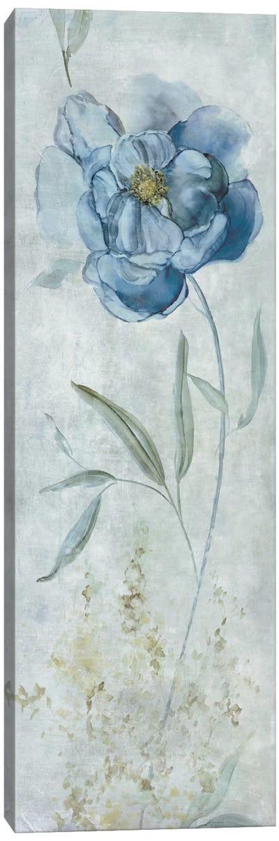 Blue Peony Canvas Art Print