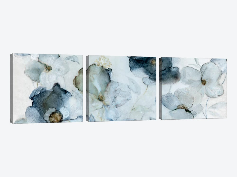 Flowering Indigo by Carol Robinson 3-piece Canvas Art Print
