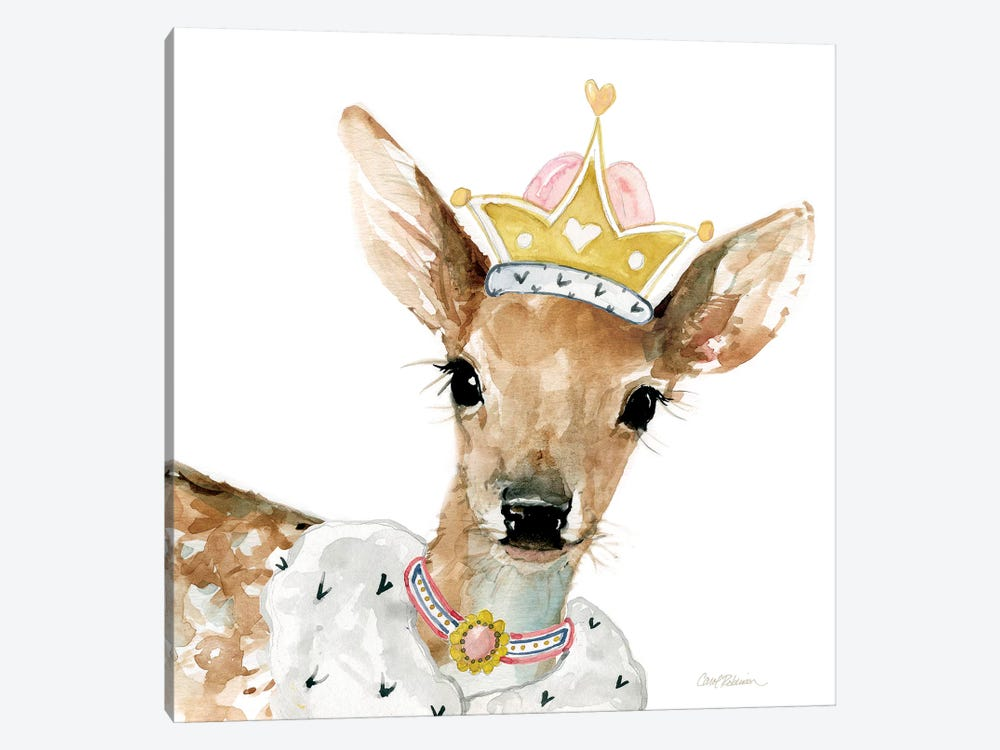 Glamour Girls: Deer by Carol Robinson 1-piece Canvas Art