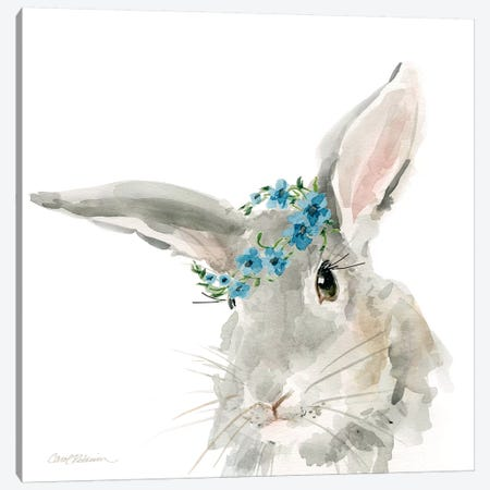 Glamour Girls: Rabbit Canvas Print #CRO349} by Carol Robinson Canvas Artwork