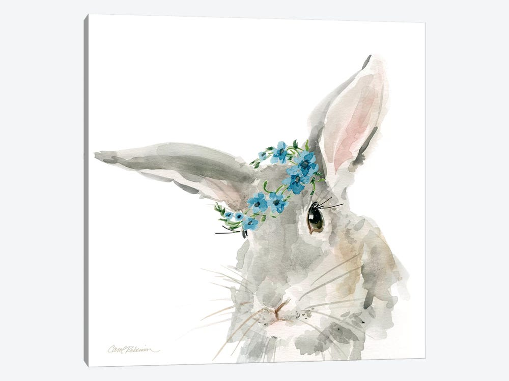 Glamour Girls: Rabbit by Carol Robinson 1-piece Canvas Artwork