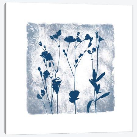 Indigo Summer Silhouettes I Canvas Print #CRO352} by Carol Robinson Canvas Print