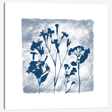 Indigo Summer Silhouettes II Canvas Print #CRO353} by Carol Robinson Canvas Art Print