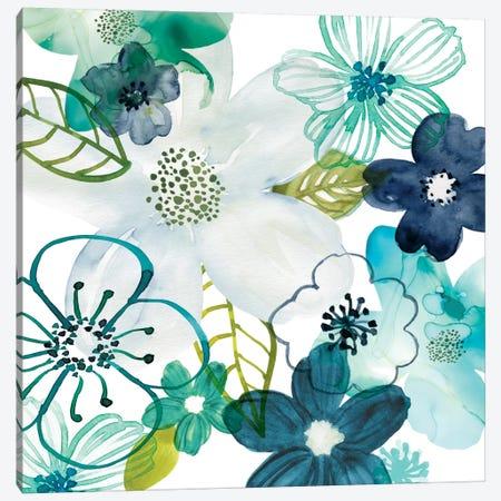Layers Of Summer Canvas Print #CRO354} by Carol Robinson Canvas Art