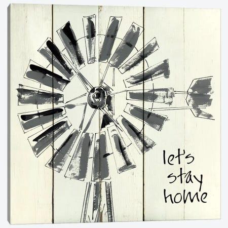 Let's Stay Home Canvas Print #CRO355} by Carol Robinson Canvas Artwork