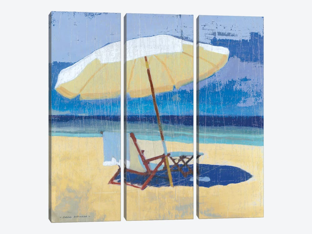 Seating For I by Carol Robinson 3-piece Canvas Art Print
