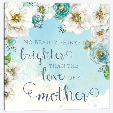 Mother's Love Canvas Print #CRO360} by Carol Robinson Canvas Artwork