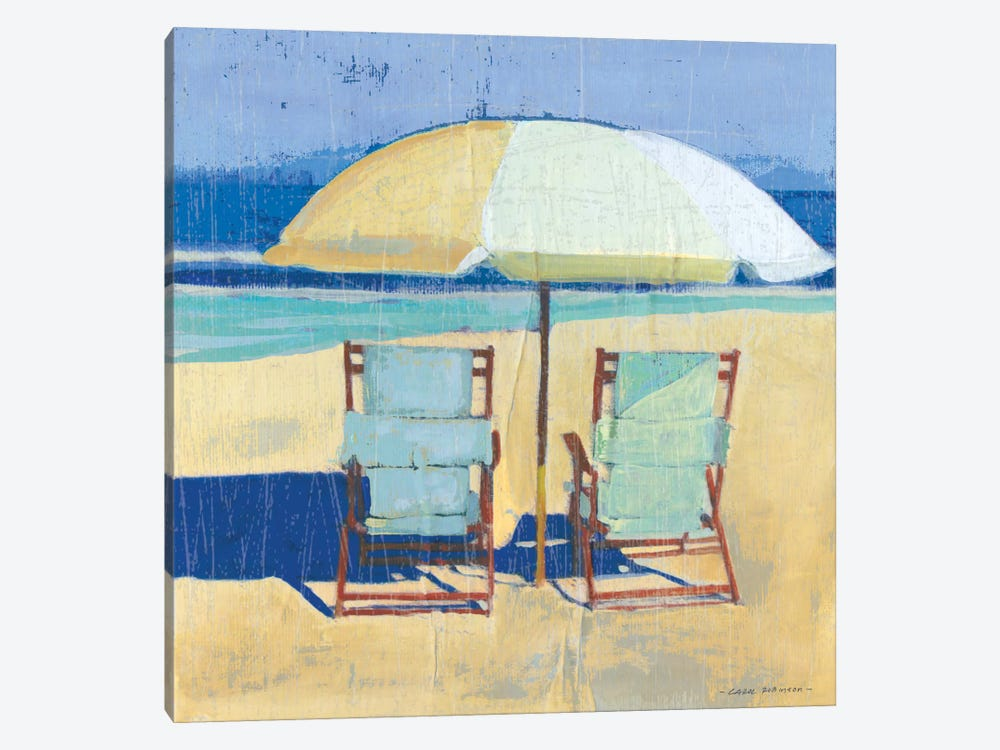 Seating For II by Carol Robinson 1-piece Canvas Wall Art