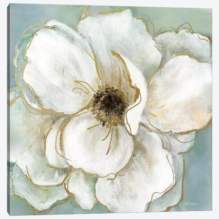 Soft Teal Splendor II Canvas Print #CRO378} by Carol Robinson Canvas Print