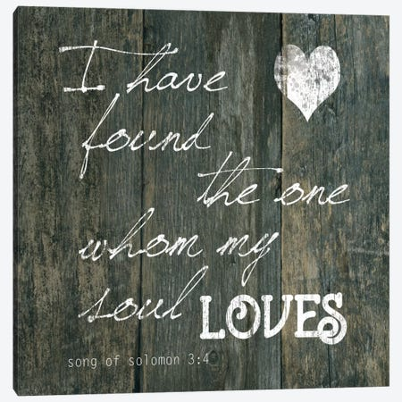 Song Of Solomon 3:4 Canvas Print #CRO379} by Carol Robinson Canvas Print