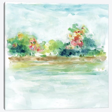 Water Garden Canvas Print #CRO384} by Carol Robinson Art Print