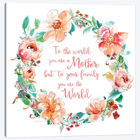You Are The World Canvas Print #CRO387} by Carol Robinson Art Print