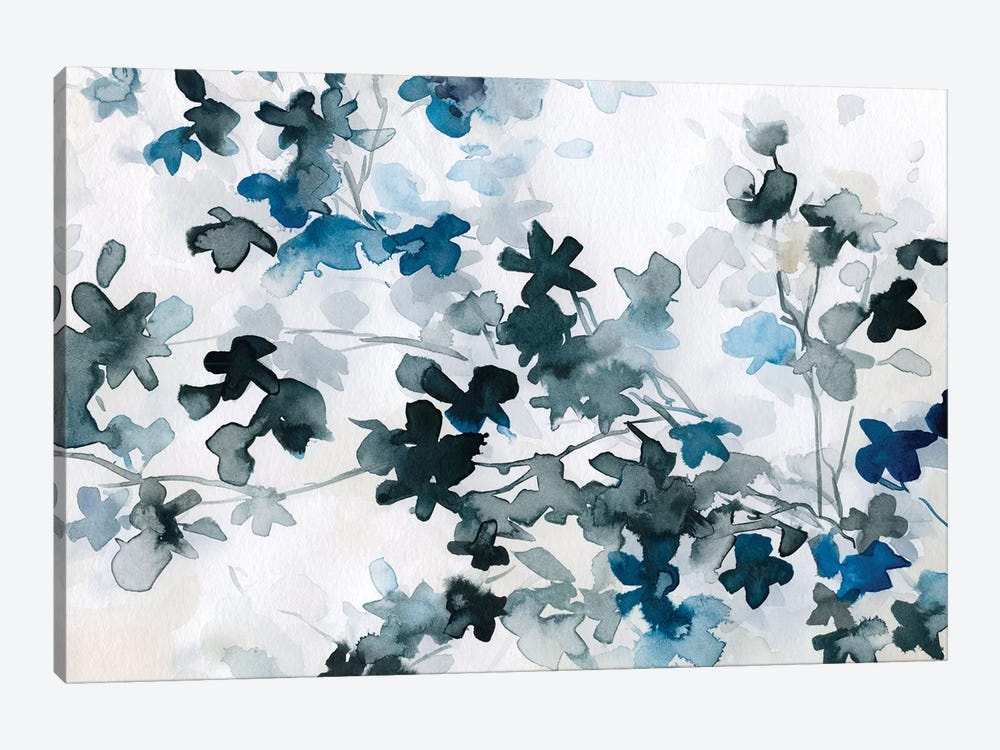 Blue Cherry Blossoms by Carol Robinson 1-piece Canvas Wall Art