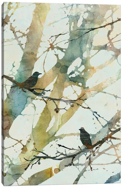 Botanical Birds II Canvas Art Print