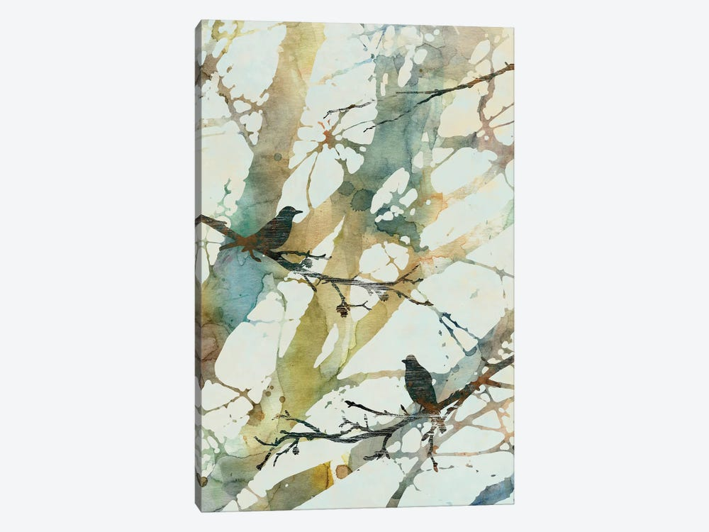 Botanical Birds II 1-piece Canvas Wall Art