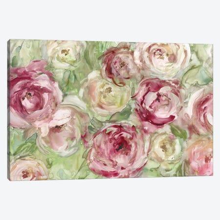 Climbing Roses Canvas Print #CRO399} by Carol Robinson Canvas Print