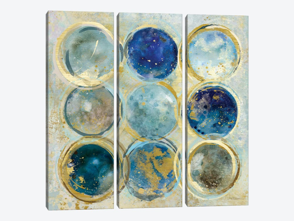 Alignment II by Carol Robinson 3-piece Canvas Art Print