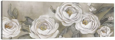 Cottage Roses Canvas Art Print