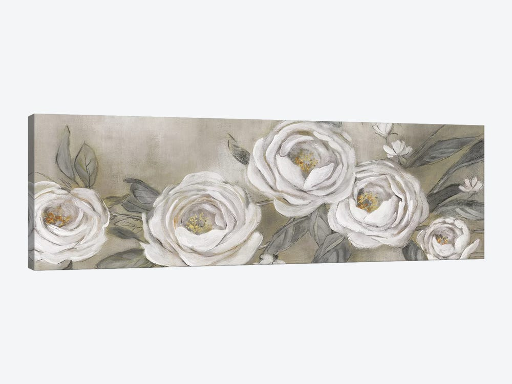 Cottage Roses by Carol Robinson 1-piece Canvas Wall Art