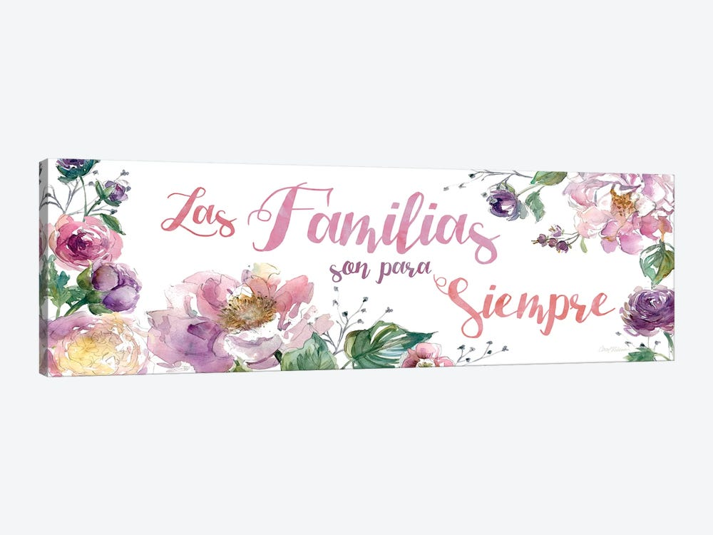 Familias Siempre by Carol Robinson 1-piece Canvas Wall Art
