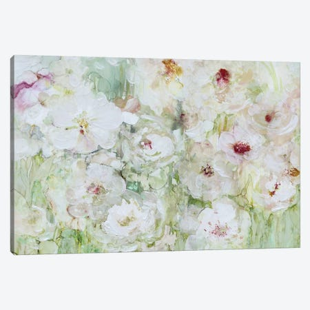 Jardin Blanc Canvas Print #CRO406} by Carol Robinson Canvas Wall Art