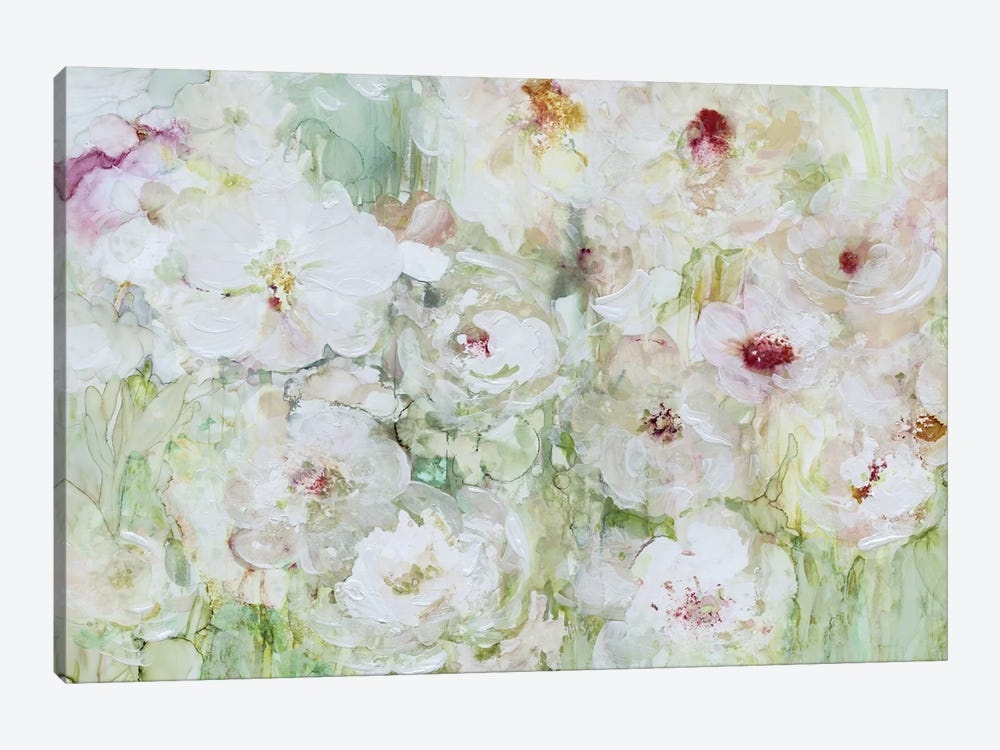 Jardin Blanc by Carol Robinson 1-piece Canvas Wall Art