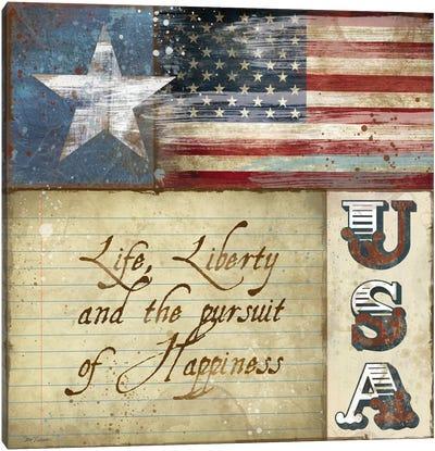 USA Canvas Print #CRO40