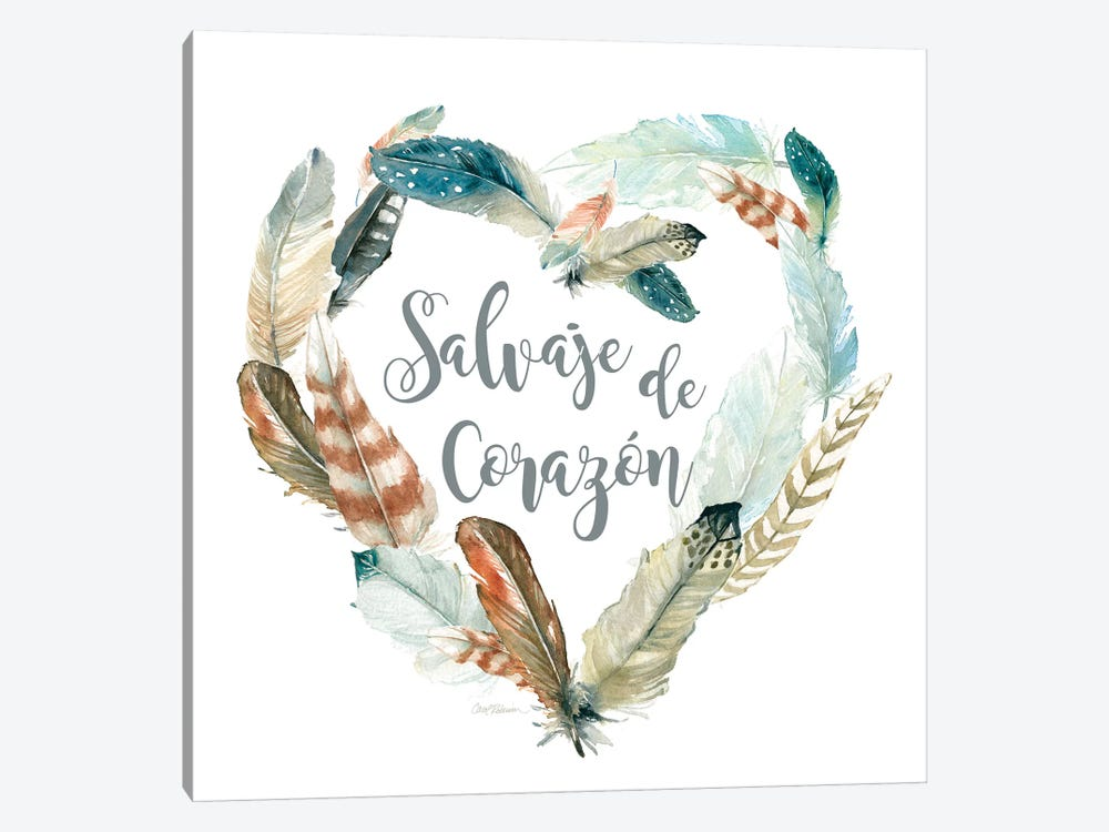 Salvaje de Corazon by Carol Robinson 1-piece Canvas Art Print