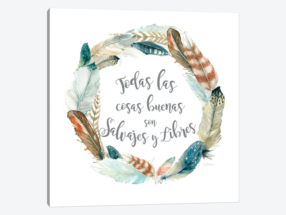 Salvajes Libres by Carol Robinson 1-piece Canvas Art